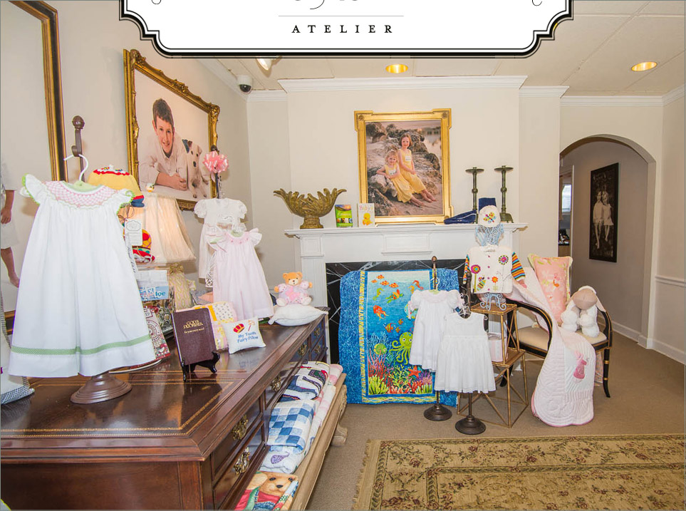 Atelier space in Quilt Shop of McLean and Atelier